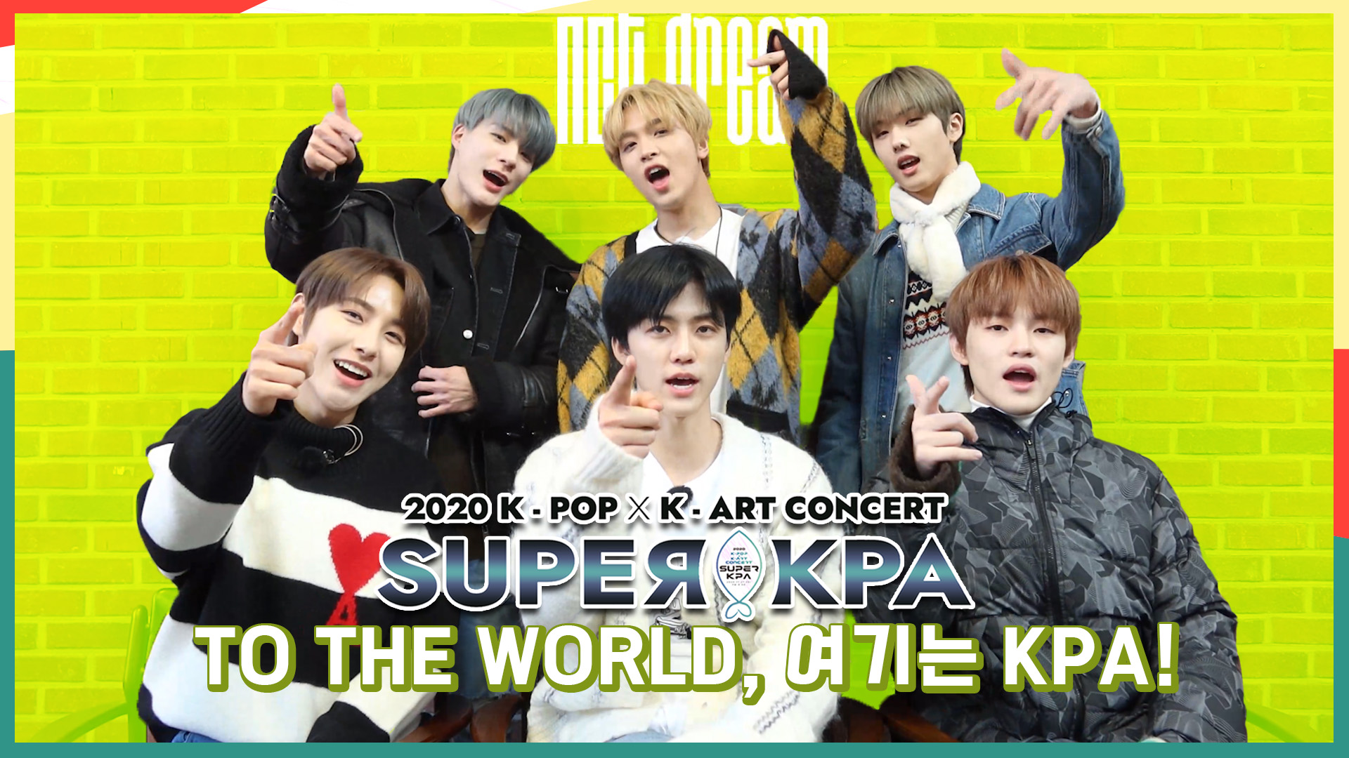 [비욘드 라이브-2020 K-POP x K-ART 콘서트 SUPER KPA] - NCT DREAM