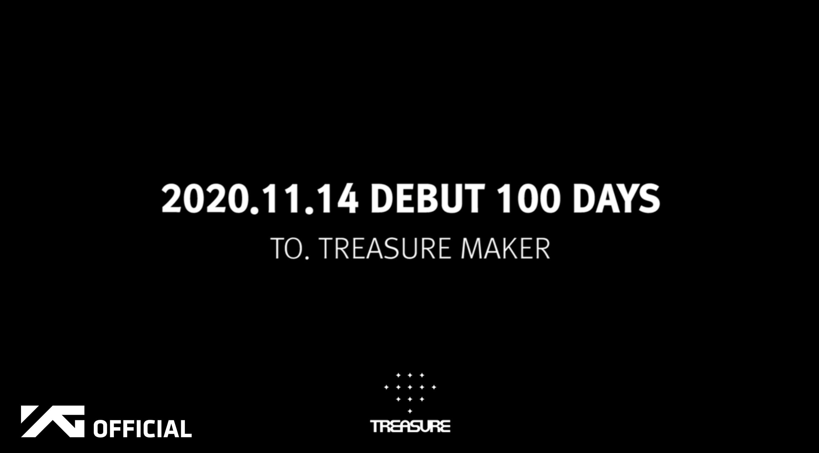 TREASURE DEBUT 100 DAYS - To.TREASURE MAKER