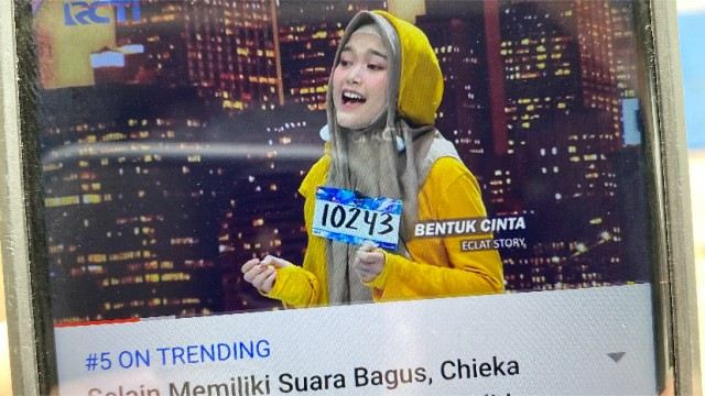 Lagu BENTUK CINTA masuk TRENDING DI INDONESIA!