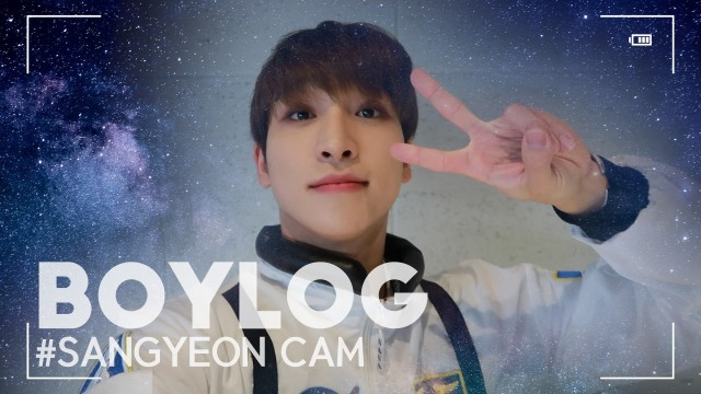 [BOYLOG] SANGYEON Cam   Sangyeon's Halloween Day Full of Getting Too Into Character