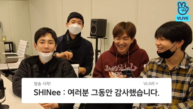 [SHINee] SHINee's first V on their own channel