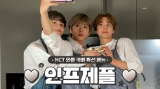 [NCT]✨JISUNG&MARK&JUNGWOO making Croffle 👍