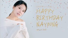 Happy nayoung Day🎂❤️🥰