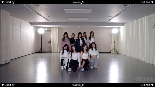 fromis_9  'Feel Good (SECRET CODE)' Choreography Video(9 Ver.)