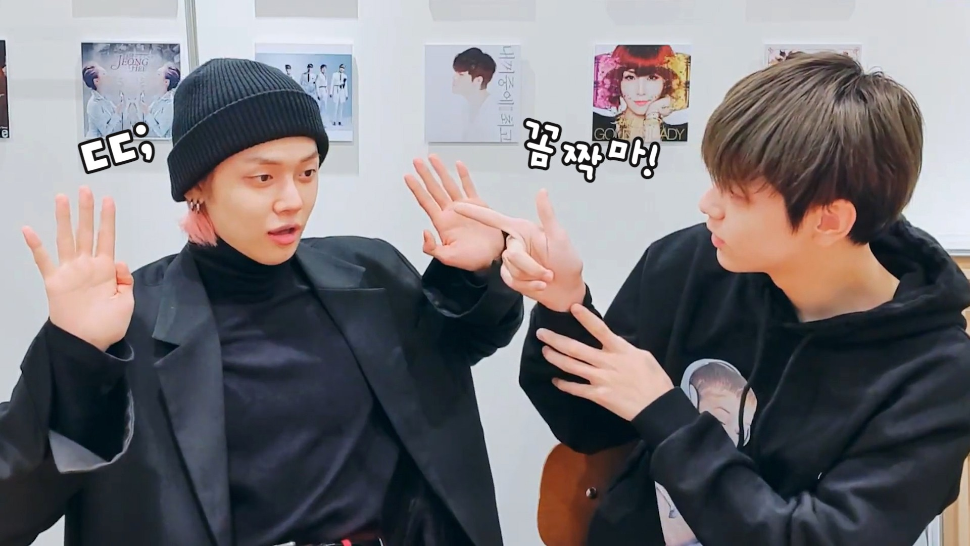[TXT] 맞네.. 내 심장 도둑 전부 여기 모였네..🕵️💘 (YEONJUN&SOOBIN talking about mistaking coat)