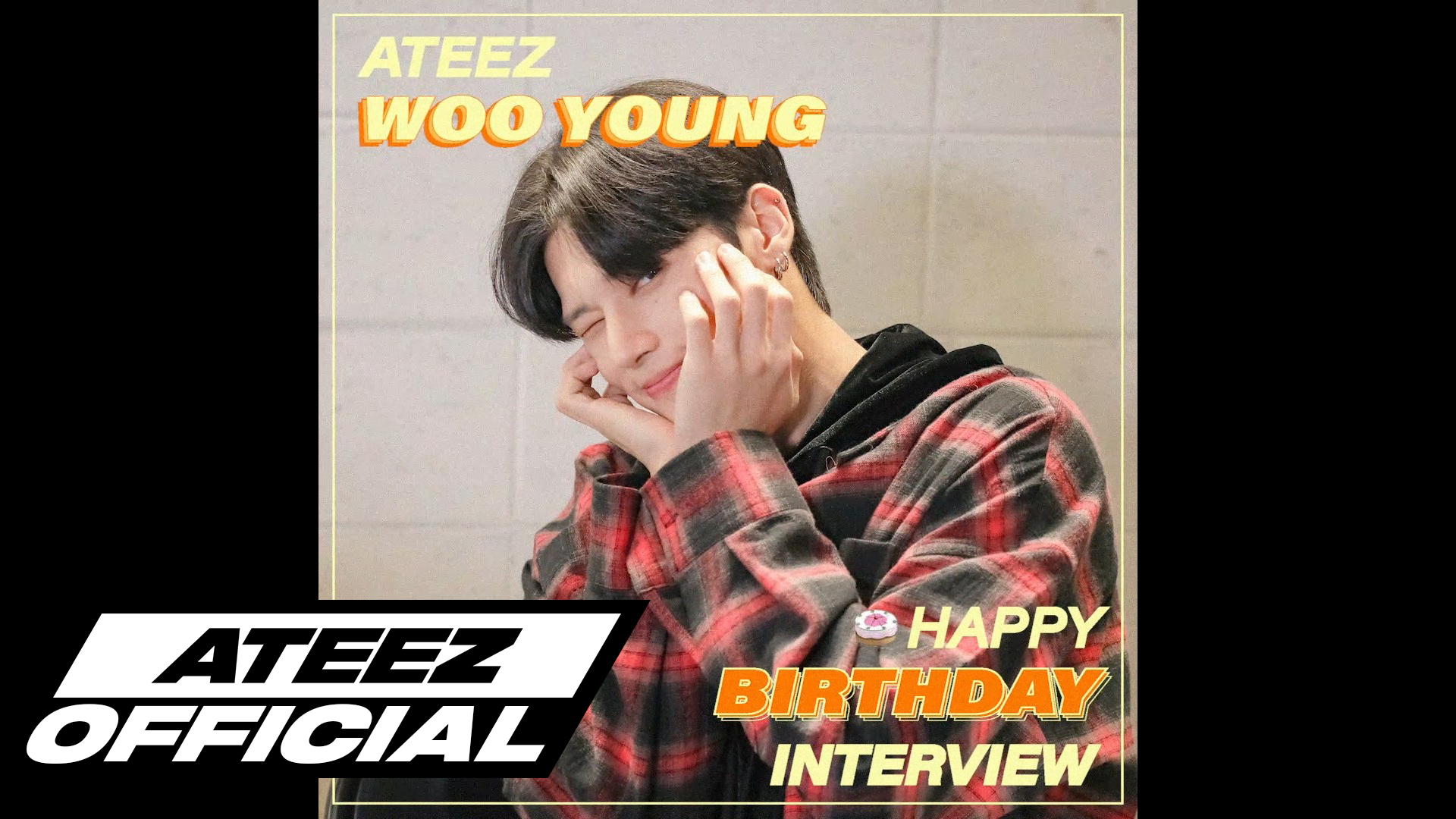ATEEZ(에이티즈) 우영 생일 8문 8답 INTERVIEW