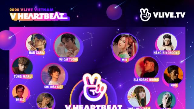 V HEARTBEAT MUSIC SHOW THÁNG 11
