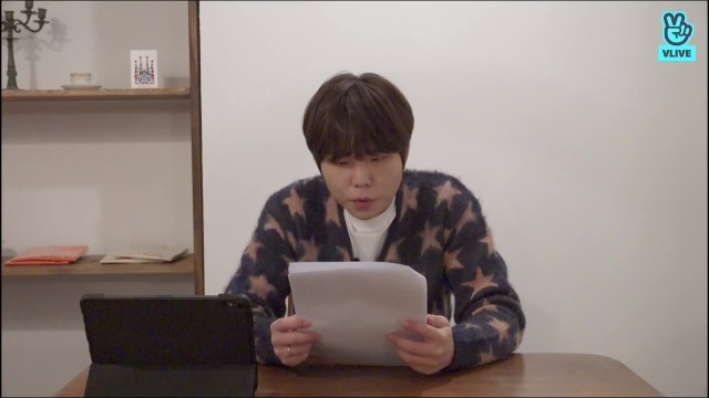 정승환 데뷔 4주년 기념 V LIVE < 어스, 캡처하세요! 📸 >