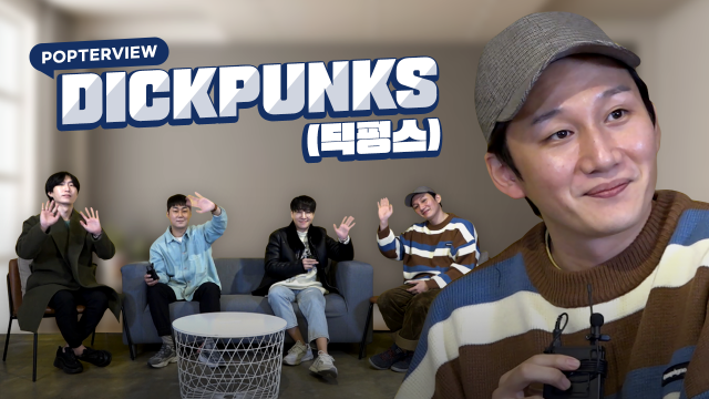 [Pops in Seoul] The youthful band receiving love! DICKPUNKS(딕펑스)'s Interview for 'Man on the Moon'🧡