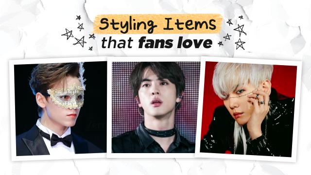 [Pops in Seoul] Male idols' styling items that fans love🎁 [K-pop Dictionary]