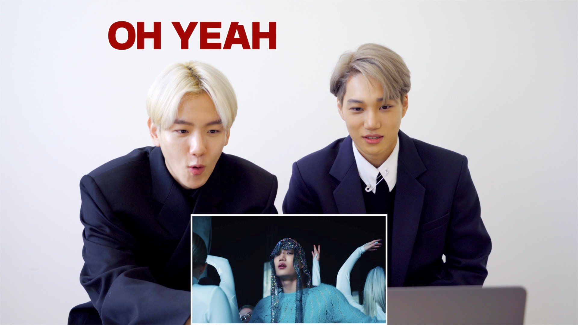 KAI 카이 '음 (Mmmh)' MV Reaction (feat.BAEKHYUN)