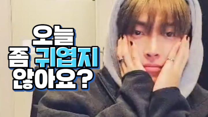 [ATEEZ] 홍중이 매일매일 좀 귀엽지 않아요? (Hong Joong playing guide version of ATEEZ's songs)