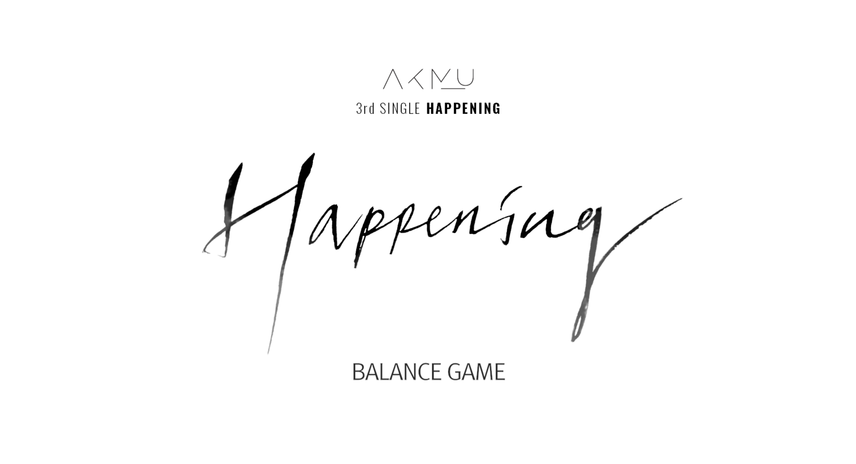 AKMU - BALANCE GAME