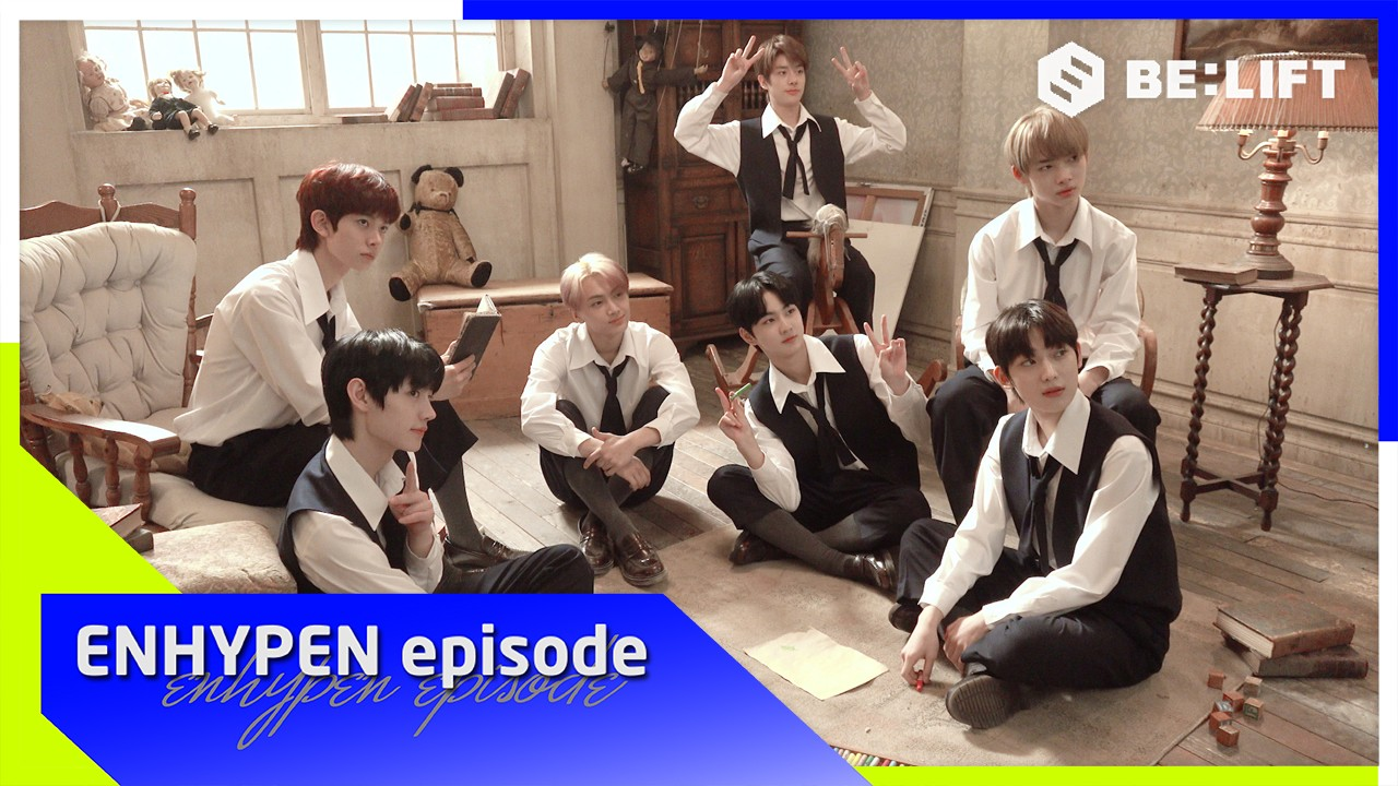[EPISODE] ENHYPEN (엔하이픈) 'Given-Taken' MV shooting sketch
