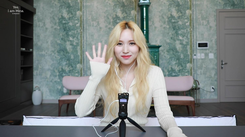 Yes, I am Mina. ASMR Interview