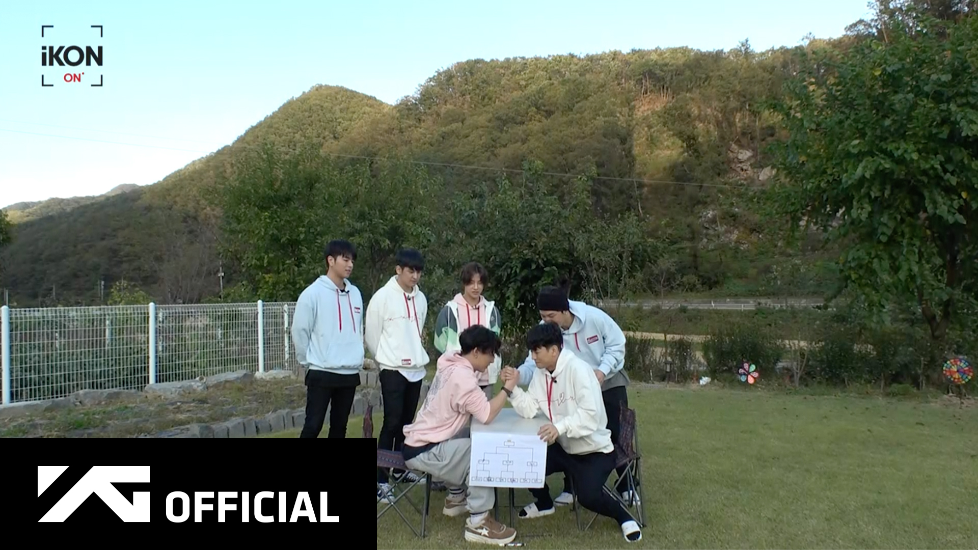 iKON-ON : KONY 1-DAY CAMPING EP.6 팔씨름 번외편