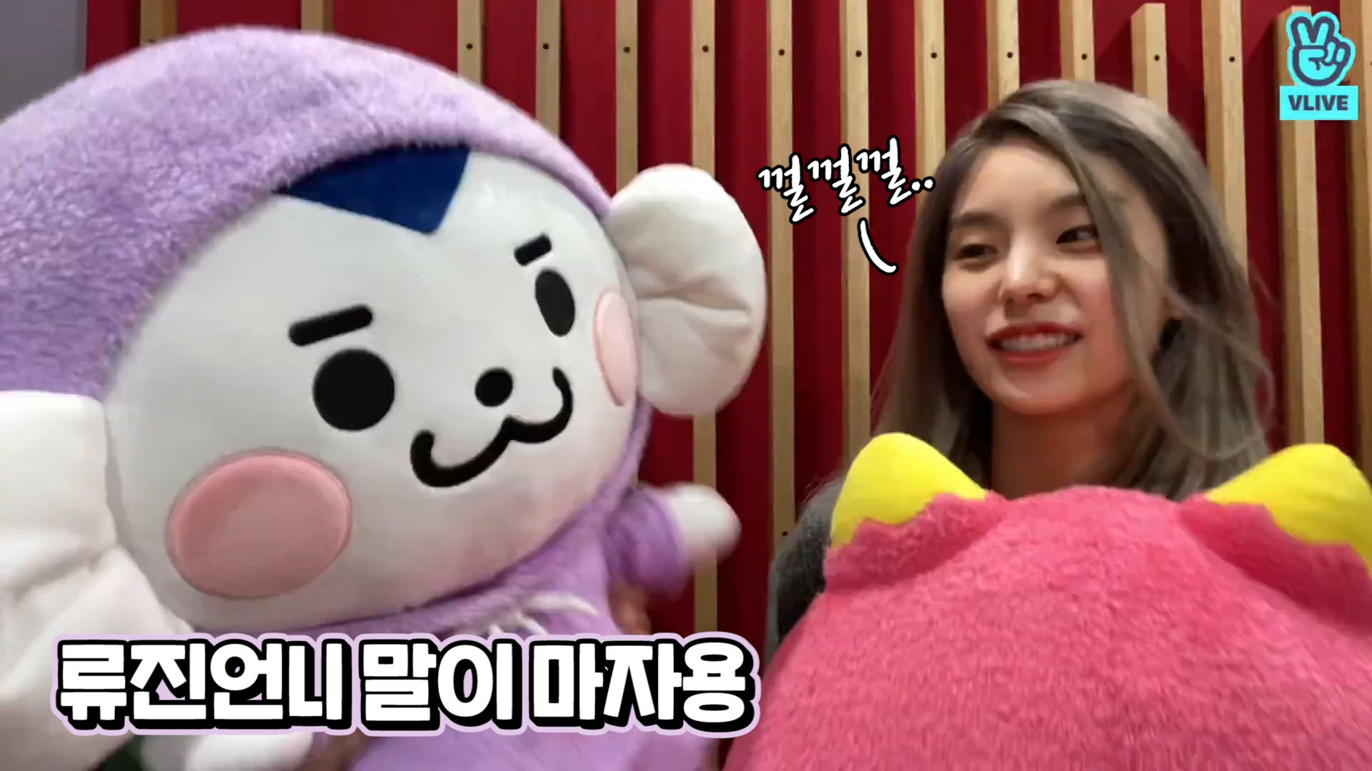 [ITZY] 툭햇과 함께하는 우당탕탕 땡덩이네🔔 (Ryujin&Yeji's V with WDZY dolls)