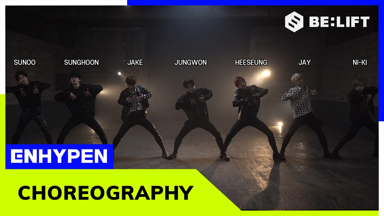 ENHYPEN (엔하이픈) 'Given-Taken' Choreography Video