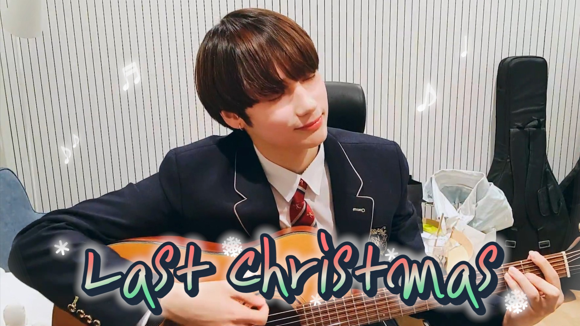 [TXT] 휴닝이가 치는 곡이라면 한 곡 반복?🙅 극락 무한 반복🙆💞 (HUENINGKAI playing a guitar)