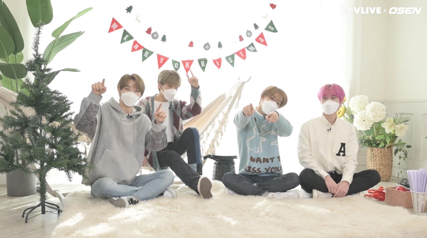 [OSEN] NCT의 귀환! 정우·지성·헨드리·성찬과 미리크리스마스 #스타로드 01