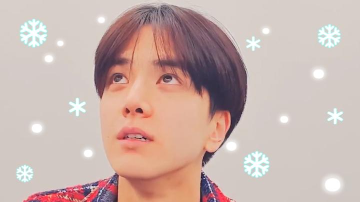 [THE BOYZ] 하늘 눈치챙겨 빵훈이 화이트 크리스마스 보여줘✊ (YOUNGHOON wish a white Christmas)