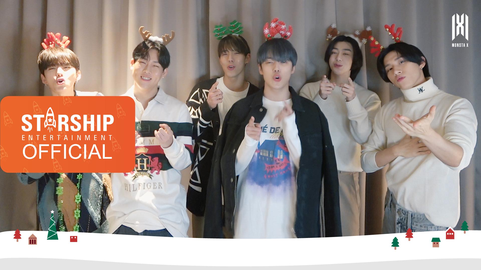 [Special Clip] MONSTA X (몬스타엑스) - 2020 Christmas Message
