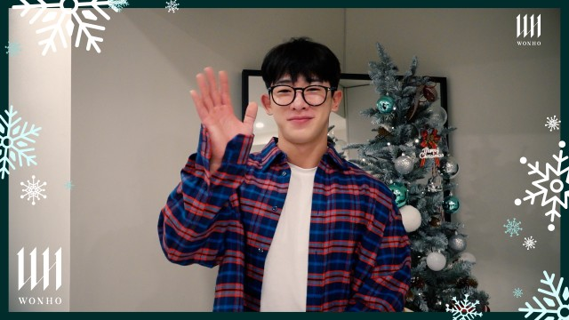 [Special Clip] 원호 (WONHO) - 2020 크리스마스 메시지 (2020 Christmas Message)