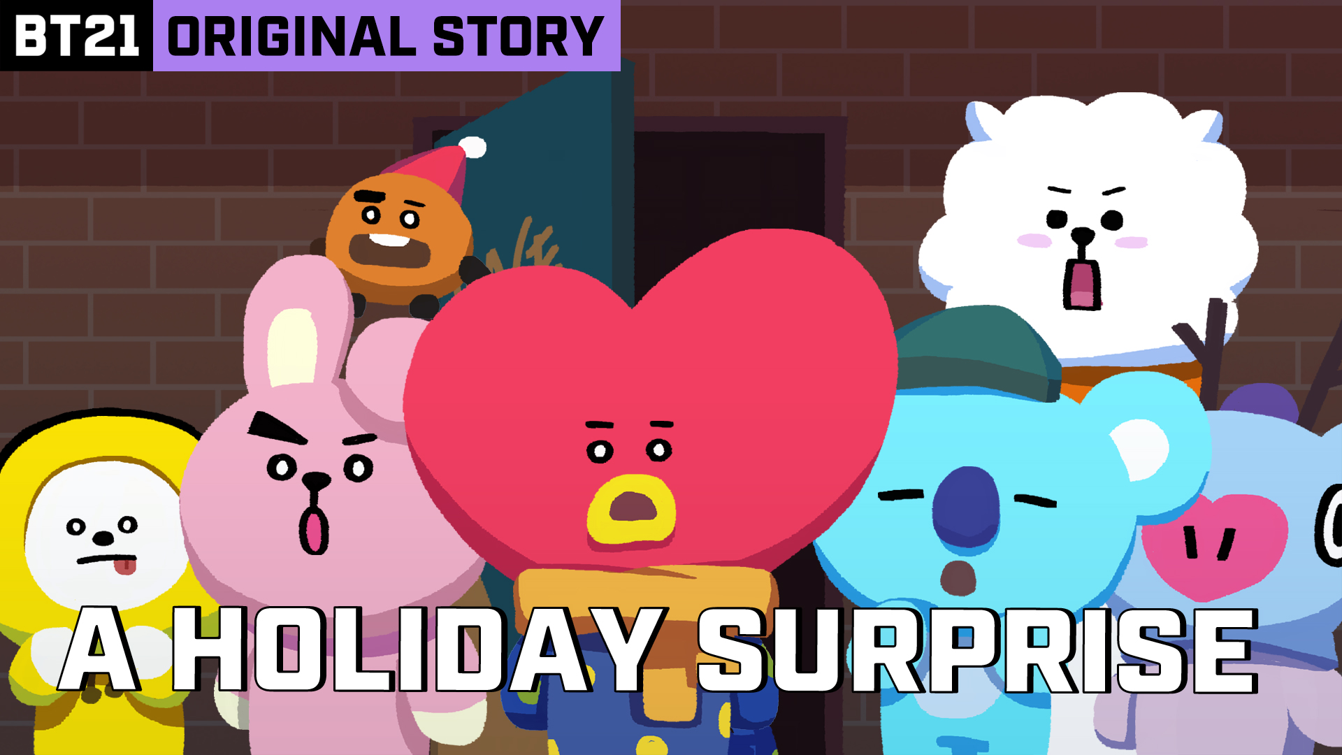 BT21 ORIGINAL STORY EP.04 - THE UNINVITED GUEST