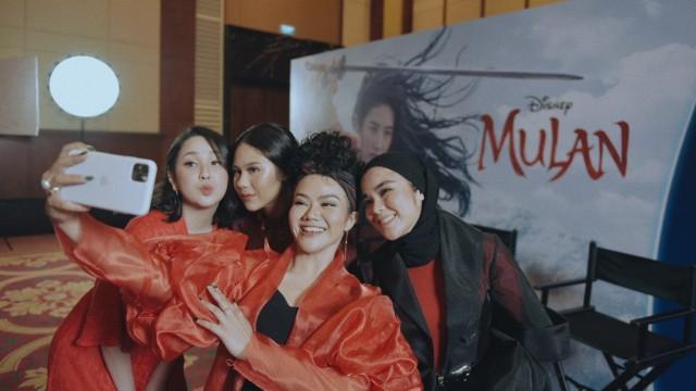 Disney Mulan's Refelection Press Conference.