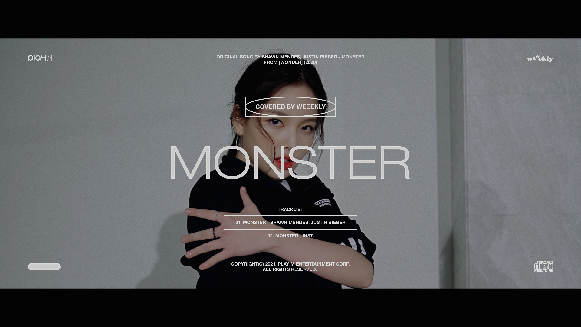 Weeekly(위클리) : 이수진 - Shawn Mendes, Justin Bieber 'Monster' DANCE COVER🎶