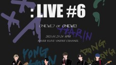 STUDIO WE : LIVE #6 [ONEWE? or ONEWE!] Black