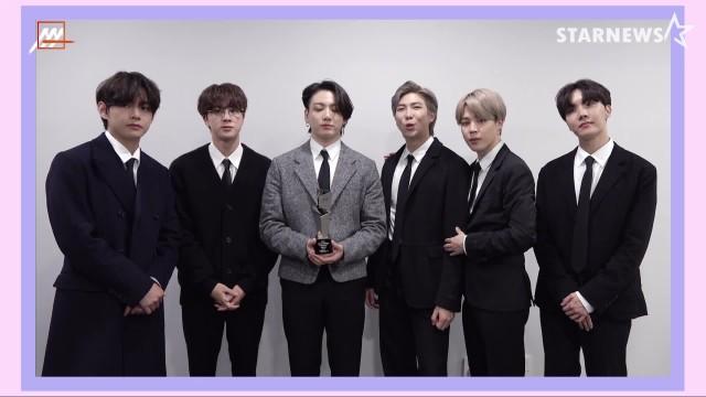 '3관왕' BTS 대상 Grand Prize Song of the Year Award -  Popularity Award - Best of Best Popularity Award