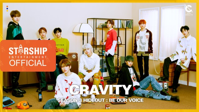 CRAVITY (크래비티) - 'HIDEOUT : BE OUR VOICE' - SEASON3 PREVIEW