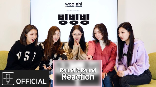 woo!ah! (우아!) – 빙빙빙 (Round & Round) Animated Lyric Video Reaction