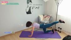 필라테스 홈트 다이어트운동 힙업과 엉덩이 라인 만들기 위한 덩키킥(허벅지뒤쪽살 빼기)