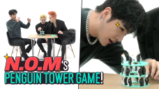 [Pops in Seoul] I can't wait~♬ Today's game♟ for N.O.M - 'Penguin Tower🐧'