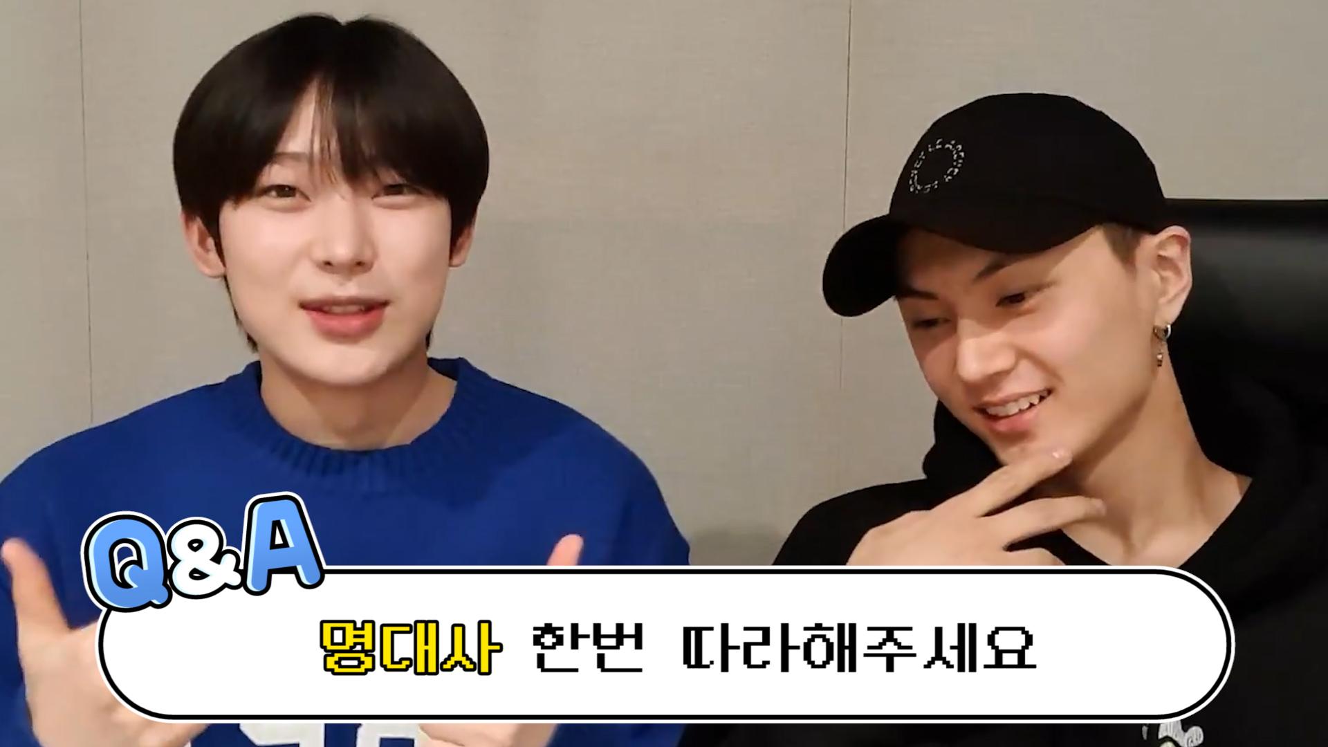 [ENHYPEN] 👤: 이거 보면.. 엔하이픈에 인생 거는 거다? 넵٩(ˊωˋ*) (SUNOO&JAY's Q&A time!)