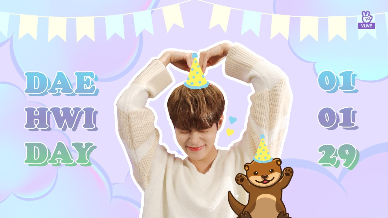 💜 HAPPY DAEHWI DAY 💜