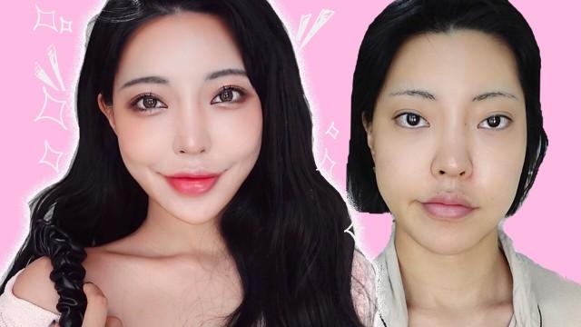 여신강림 주경이 메이크업 날카로운 인상도 쉽게 할 수 있는 여신메이크업l True Beauty Ju-Kyun