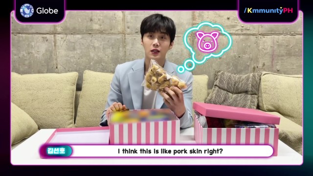 Kim Seon-Ho Tries Pinoy Sweets & Snacks to #Reinvent your Valentine's. Catch the surprise at the end