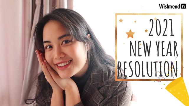 2021 New Year's Resolution Cho Da Xinh