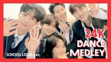 24K(투포케이) DANCE MEDLEY [EXO ASTRO SVT SIXC BTS]