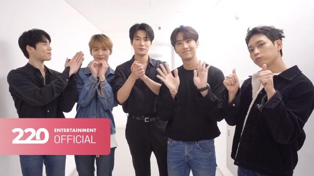 크나큰(KNK) 데뷔 5주년 축하 인사❤