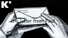 [Paper Cut Animation]The Letter from Paul(한예종 비디오그래퍼/K-Arts Life)