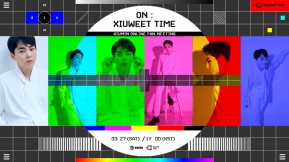 """[Enter code number] Beyond LIVE – XIUMIN ONLINE FANMEETING """"ON : XIUWEET TIME"""""""