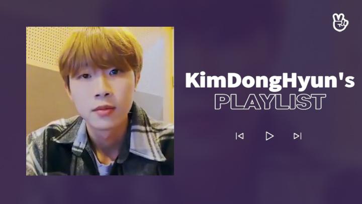 [VPICK! Playlist] Golden Child KIMDONGHYUN's Play List 🐜🎶