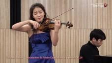 [139회 아트엠콘서트] 바이올리니스트 한수진 C. Saint-Saens - Introduction & Rondo Capriccioso in a minor, Op.28