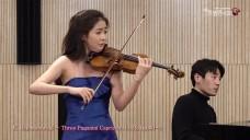 [139회 아트엠콘서트] 바이올리니스트 한수진 K. Szymanowski - Three Paganini Caprices No 24, Op 40-3