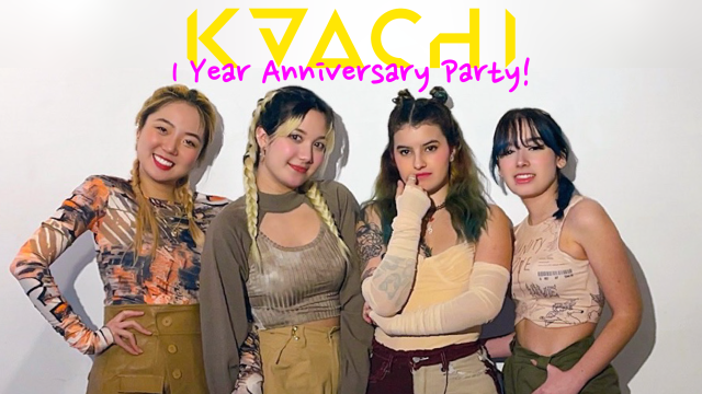 KAACHI 1 Year Anniversary Party + Competition Announcement