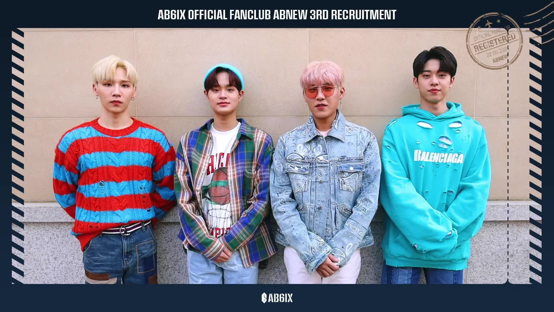 AB6IX (에이비식스) OFFICIAL FANCLUB ABNEW 3RD RECRUITMENT